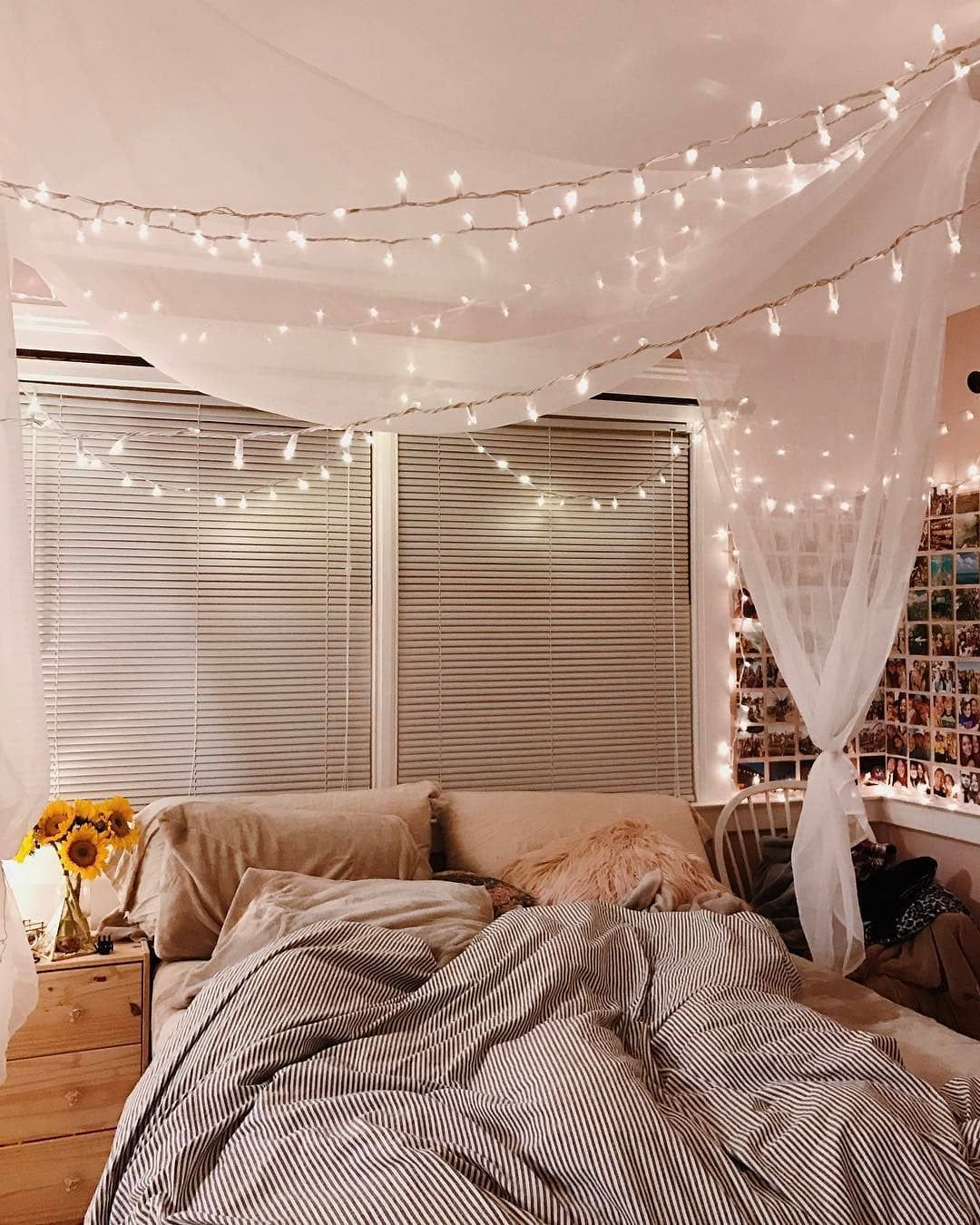 Howwelive On Instagram A Dream Of Fairylights In The Bedroom Of