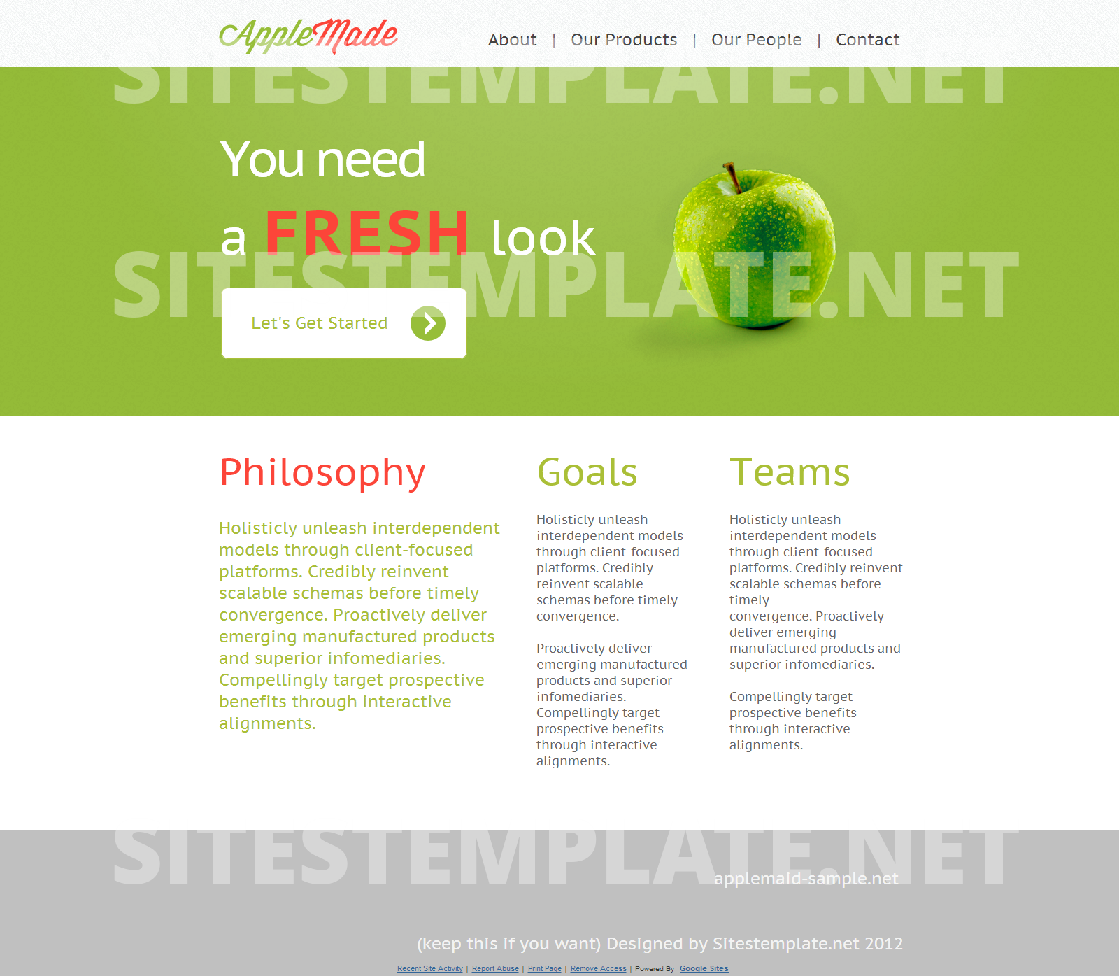 The fresh site a new website template from sitestemplate the fresh site a new website template from sitestemplate beautiful maxwellsz