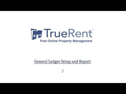Free Online Property Management Software Review General Ledger