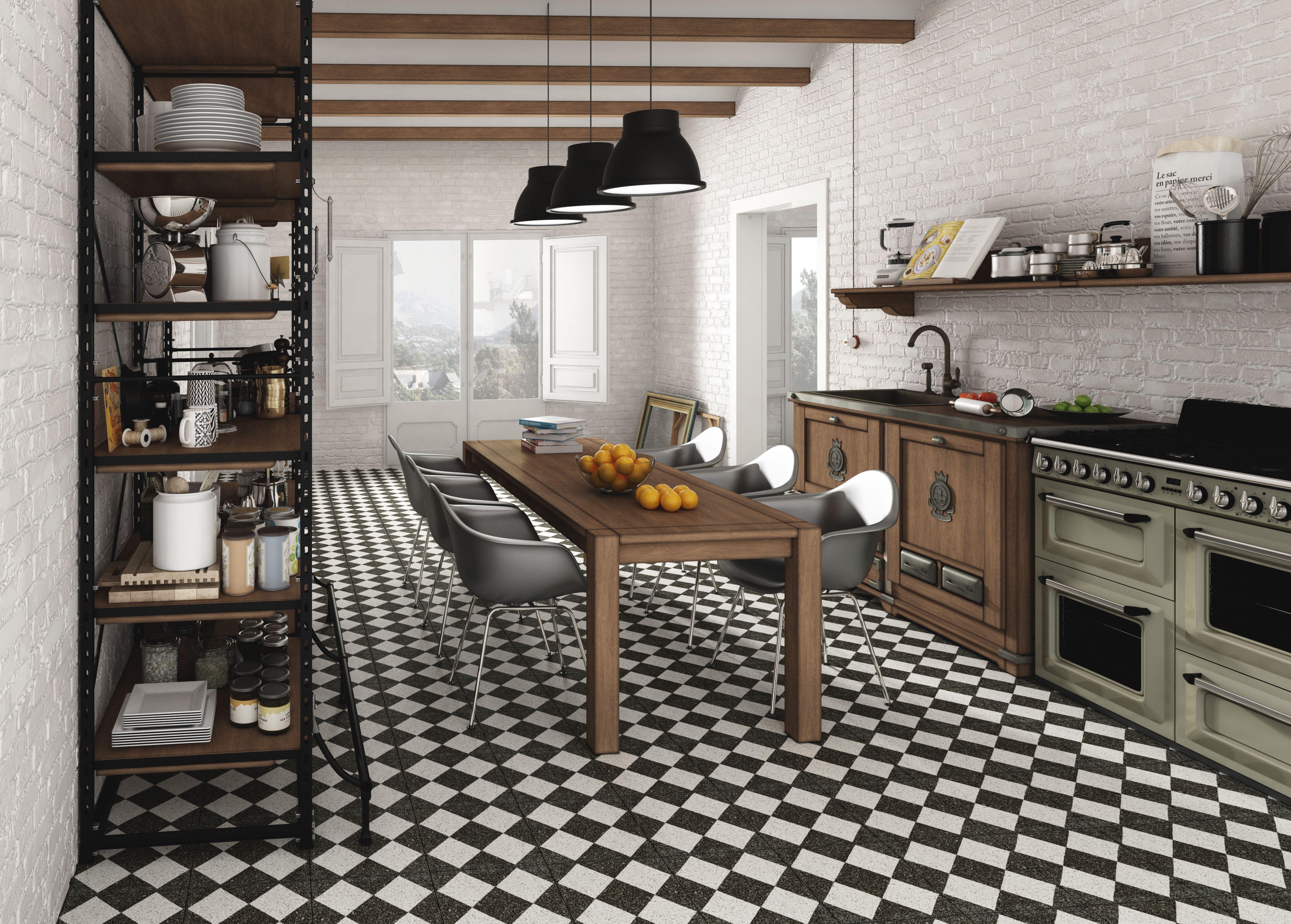 Terrazzo Black Decor / Tradition / Design