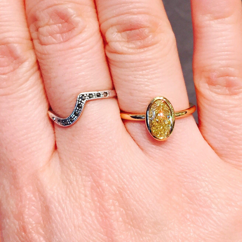 Tiffany yellow gold bezet 1.5ct   Tiffany   Pinterest   Tiffany and Gold