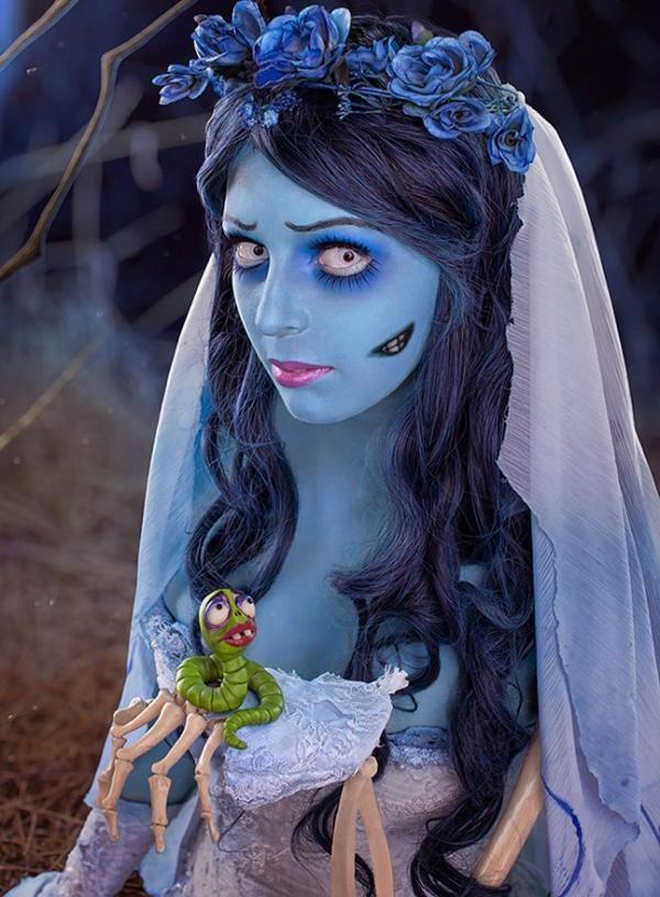 Cómo hacer un disfraz de novia cadáver para Halloween