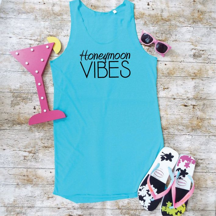 Honeymoon Vibes Beach Dress. Beach Cover Up. Swimsuit Cover. Honeymoon Clothes. Honeymoon Top. Summer Dress. Beach Top. Beach Party Dress. by SoPinkUK on Etsy #beachhoneymoonclothes