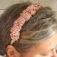 Compelled to craft: Ribbon Headband Tutorial