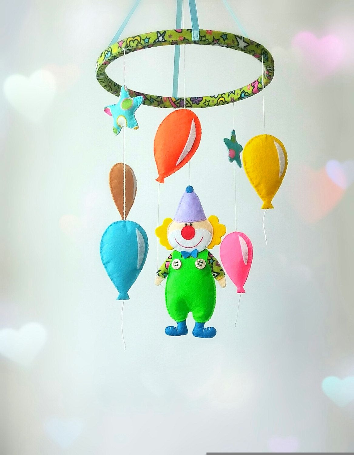 dundry hill llc products mobile crib cribs balloons mini air for hot mobiles felt baby