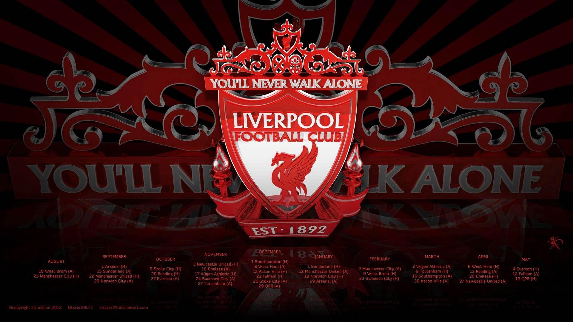 Logo Liverpool F.C. 2014 Wallpaper HD