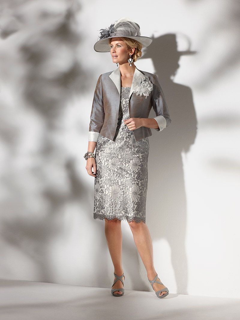 Condici lace dress with waist length jacket 09616 - Catherines of Partick