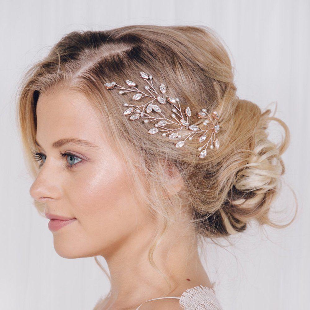 Eleganter Haarschmuck Fur Die Braut Brautschmuck Vintage Hochzeit