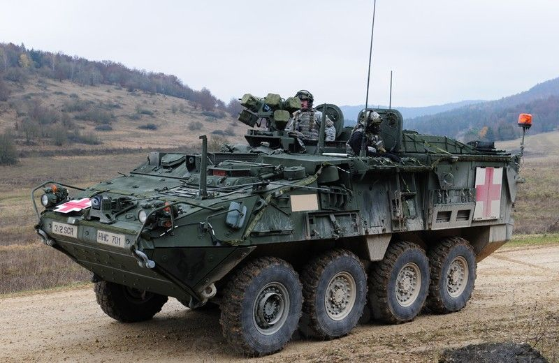 M 1133 Stryker Mev M 1135 Stryker Nbc Rv Military Vehicles