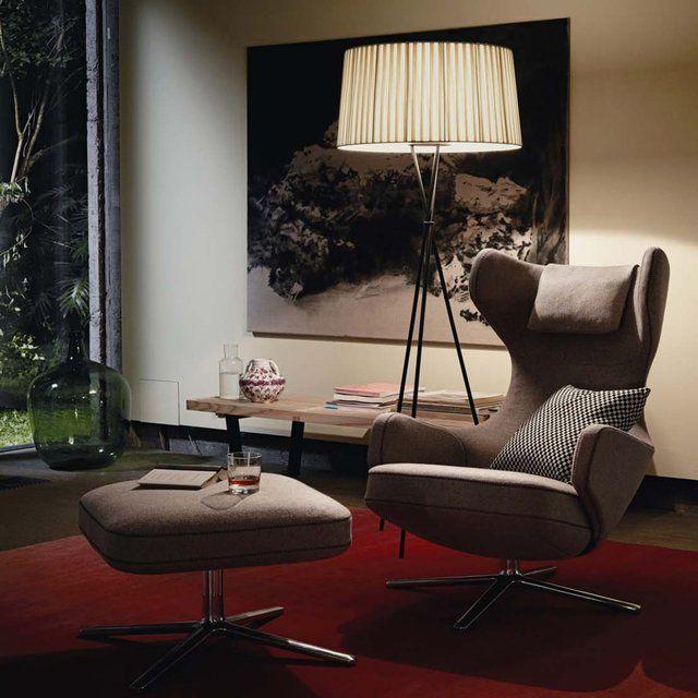 Poltrona Grand Repos Vitra.Fancy Vitra Grand Repos Lounge Chair Ottoman Chair Ottoman