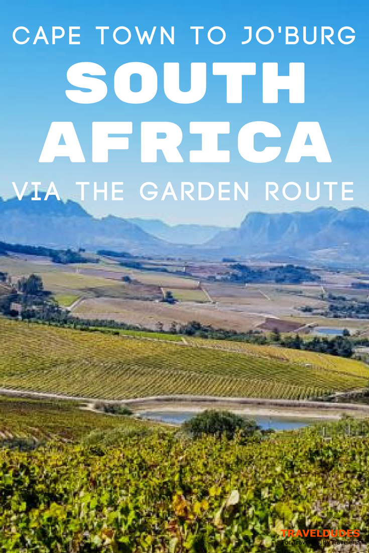 South Africa and Garden Route Guide From Johannesburg to