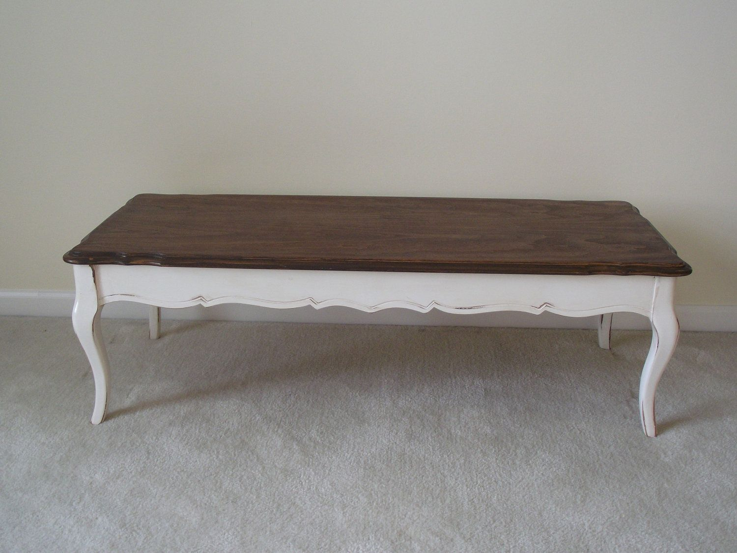 available - french provincial, solid wood, long coffee table