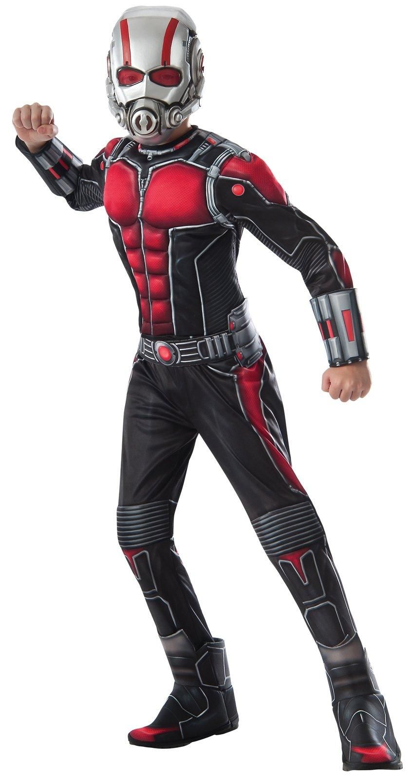 AntMan Deluxe Child Muscle Chest Shirt Set Boy costumes