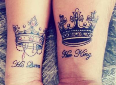 Bonitos Tatuajes Para Parejas Con Sus Significados Letras En