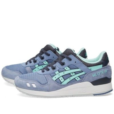 low priced 2a1f5 c8f9b Asics Gel Lyte III (Stone Wash & Light Mint) | Kicks ...