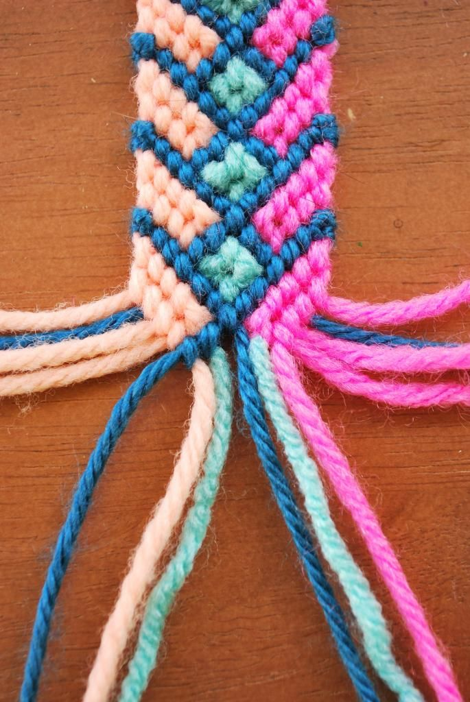 how to make floss string hoop