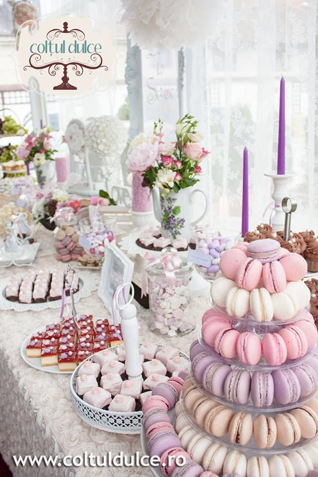 Coltul Dulce Candy Bar Dessert Table Sweet Corner Wedding