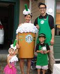 The Starbucks Family Costume - 2016 Halloween Costume Contest