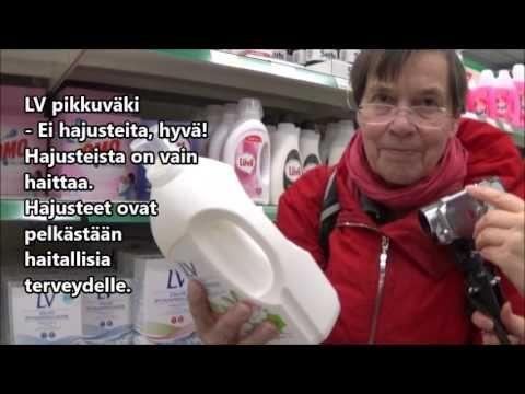 Arjen kemikaalit; Pyykinpesuaineet - YouTube