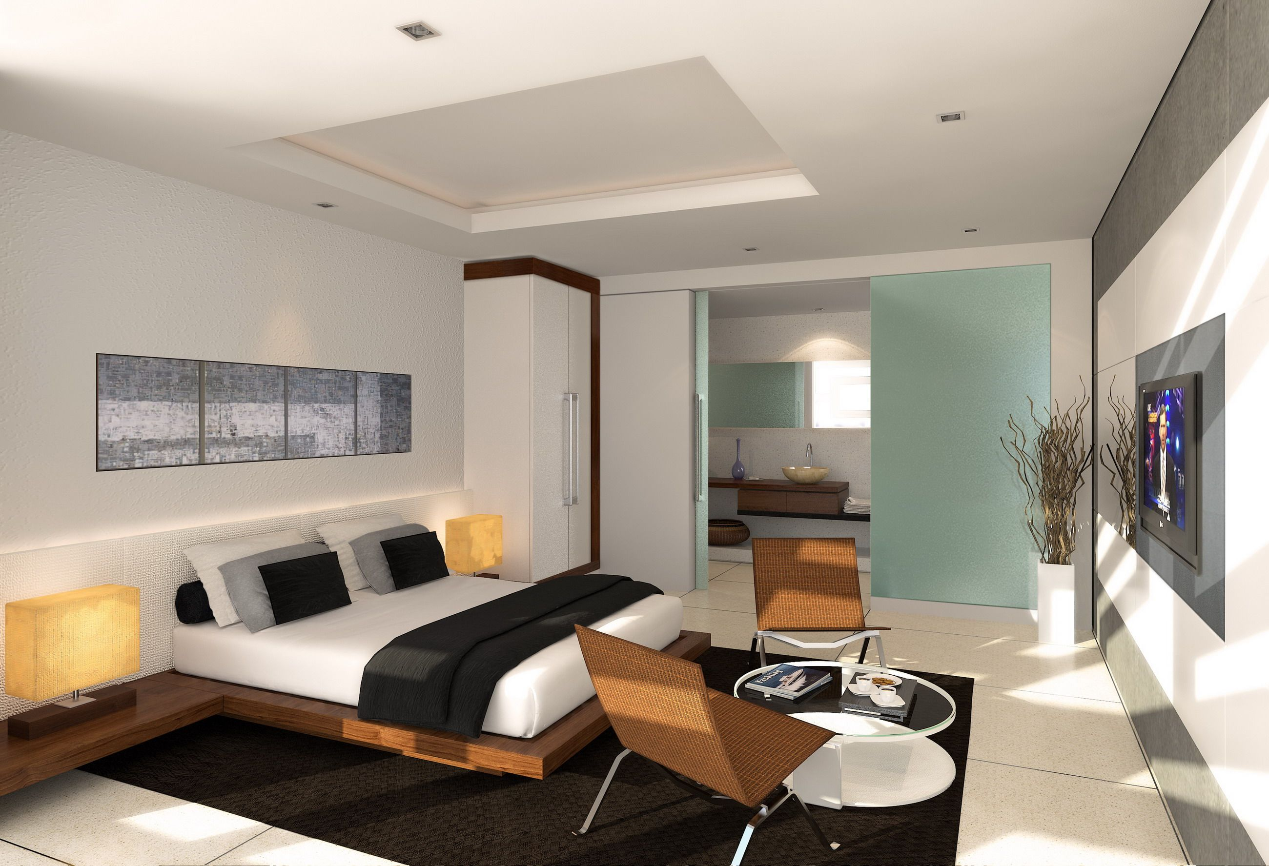 Bedroom Awesome Bedroom Decorating Ideas For Small Apartments With Classic Coupl Apartment Bedroom Design Modern Master Bedroom Design Small Apartment Bedrooms