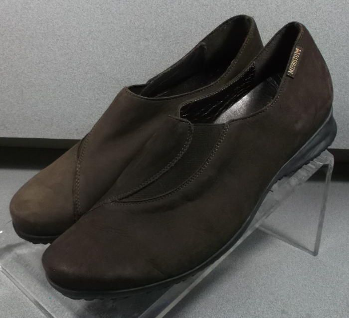 8adb9763c30e NP71162LO BROWN LMDF30 Women s Shoes Size 7 (EUR 4.5) Leather Slip On  Mephisto