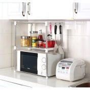 Microwave Oven Stand Shelf Storage Rack Side Organiser Hang Box Basket Caddy Lid Kitchen Storage Rack Space Saving Kitchen Kitchen Cupboard Storage