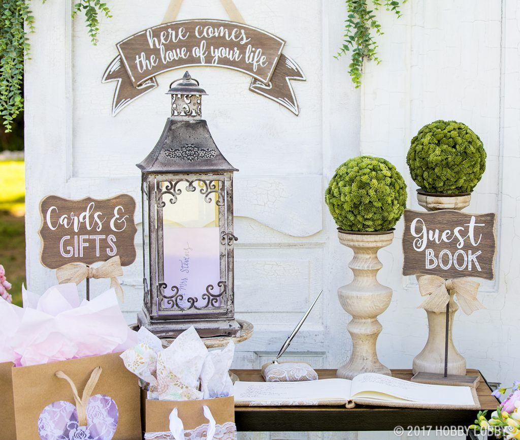 Stylish Wedding Details For The Diy Bride Gift Table Wedding Rustic Wedding Decor Wedding Decorations