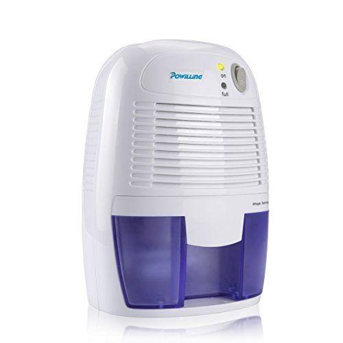 Powilling Mini Dehumidifier Portable Electric Dehumidifier ...