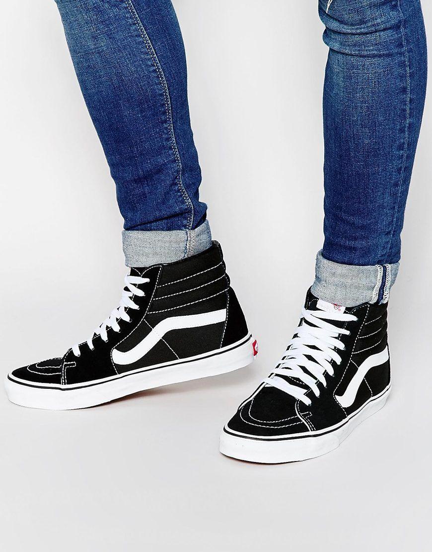 chaussure femme vans montante