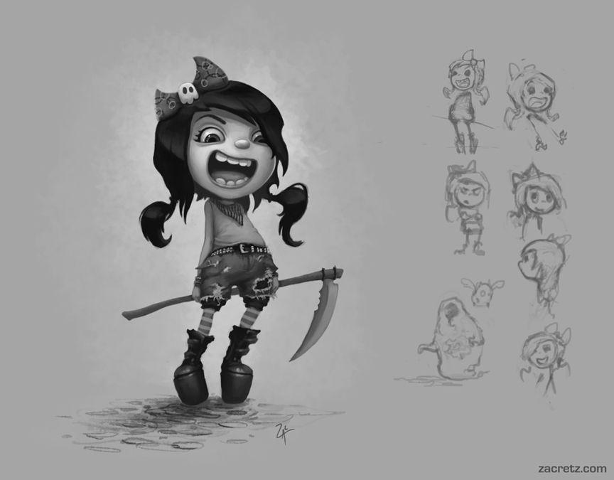 Ghost Demon Hunter by ~zacretz on deviantART