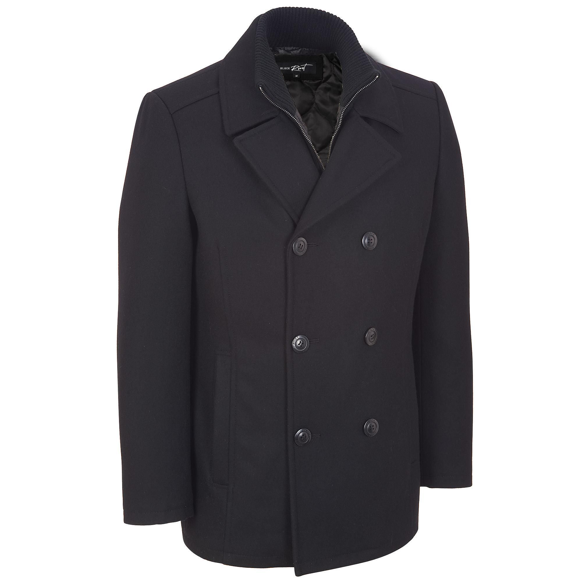 1000  images about Mens Wool Pea Coat on Pinterest | Coats Ralph