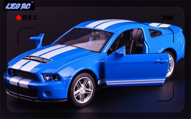 Leo Rc Cast Car Ford Gt  Pull Back Metal Model Car