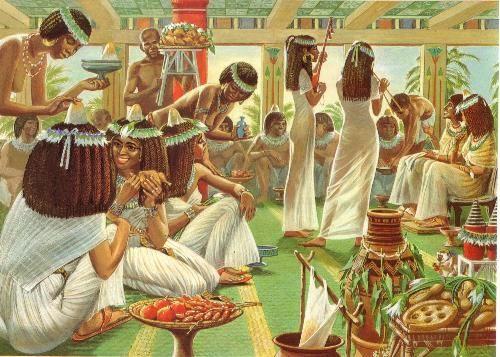 Les Fetes Dans L Egypte Ancienne Egypte Uit De Oudheid Egypte Geschiedenis