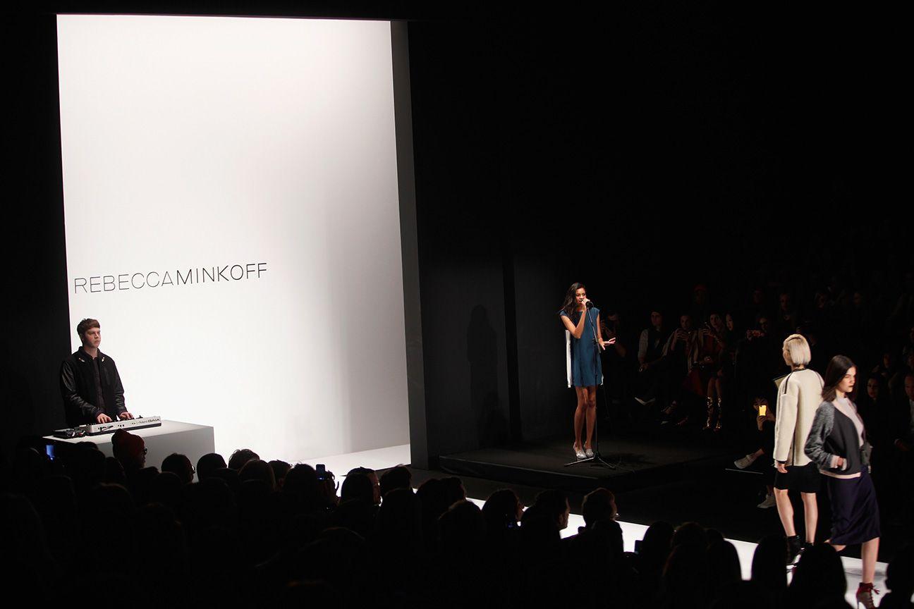 Runway Rock: AlunaGeorge Plays Rebecca Minkoff's NYFW Show