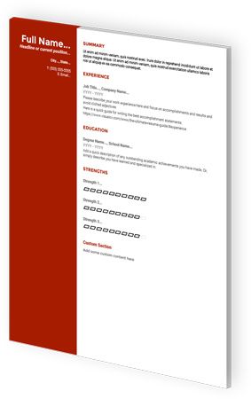 Google Docs Resume Templates By Visualcv Google Resume Resume Template Free Resume Templates