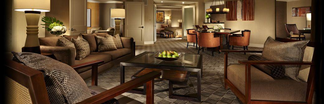 Mandalay Bay Extra Bedroom Suite Media Suite  Mandalay Bay  Las Vegas Hotel Rooms  Las Vegas .