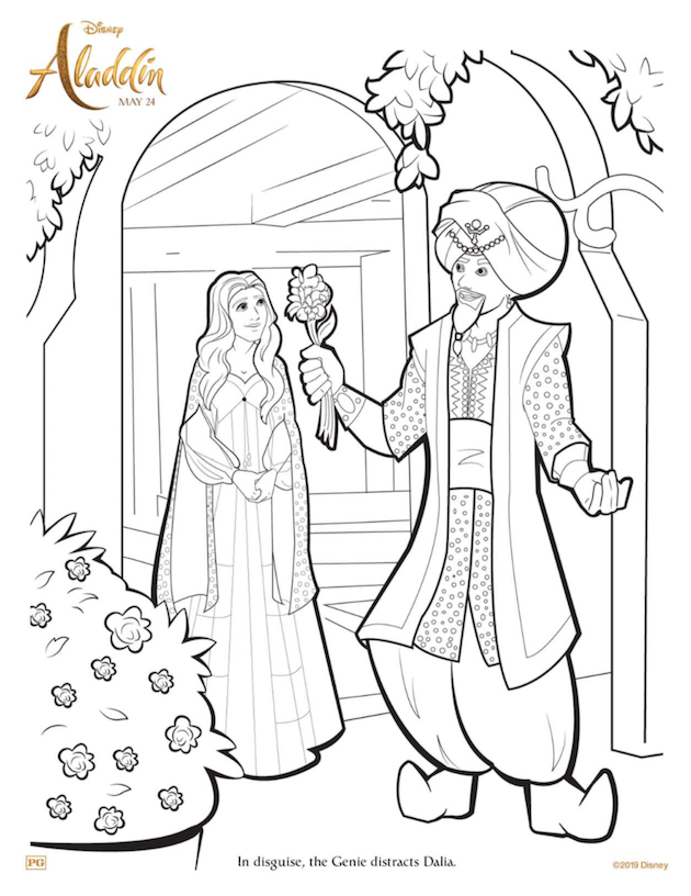 Aladdin Coloring Page Coloring Pages Cartoon Coloring Pages Disney Coloring Sheets