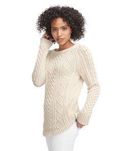 WANT IN BL CHERRY:  #LLBean: Signature Cotton Fisherman Tunic Sweater