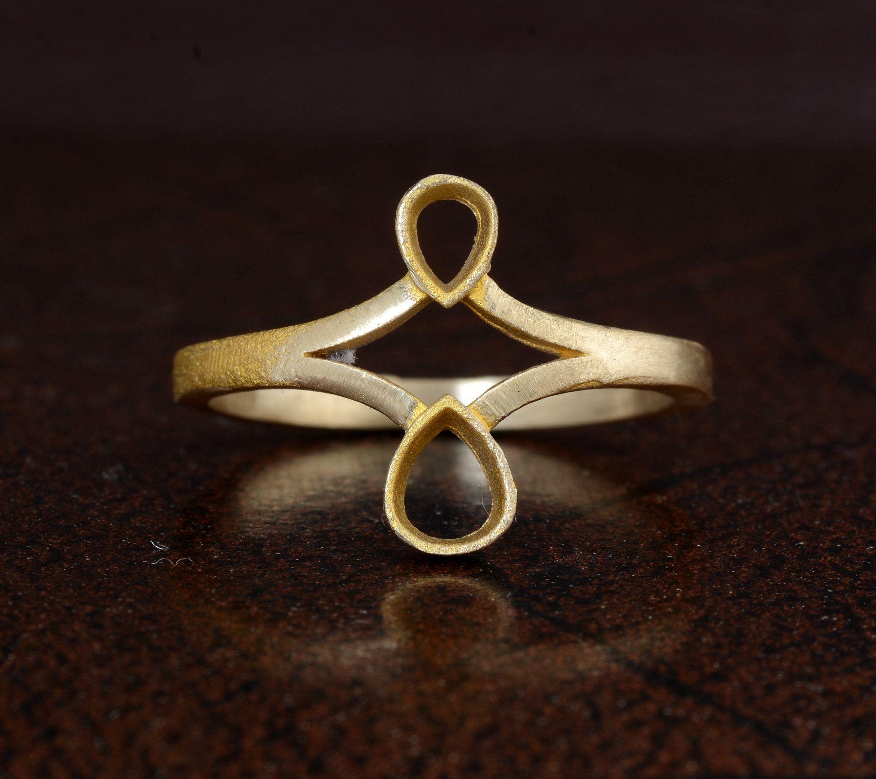 Vintage Ring Statement Ring Gemstone Ring Boho Ring Wedding Ring Tiger Eye Ring Jewelry Dainty Ring Brass Ring Couple Ring