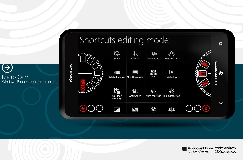 Metro Cam – advanced camera concept application for Windows Phone