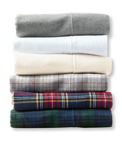 Heritage Chamois Flannel Sheet Collection Plaid Bed Linens