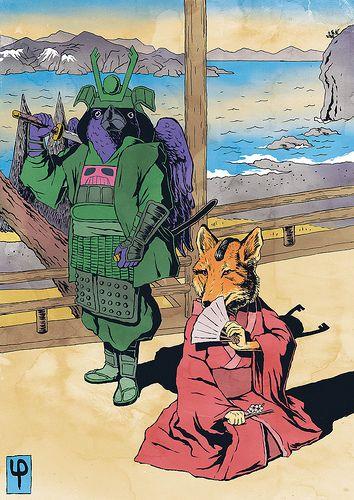 samurai pizza cats - villains