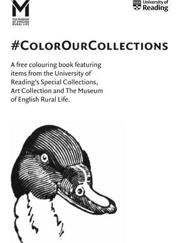 University Of Reading Museums And Collections Coloring Book Part 1