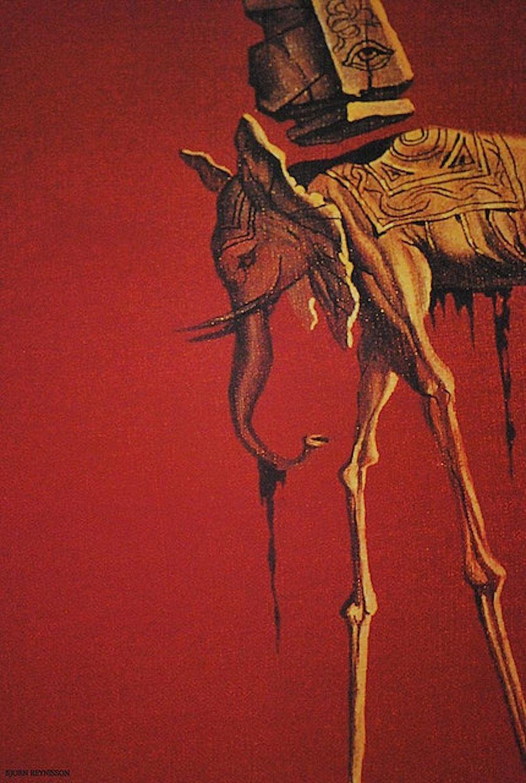 Salvador dali s les elephants tienes que sentirlo for All of salvador dali paintings