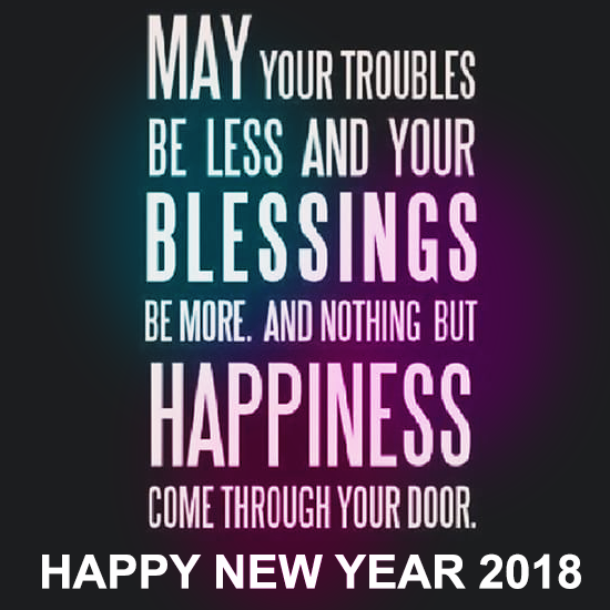 50 happy new years 2018 quotes sayings with images in english
