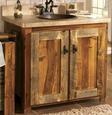 Mountain Woods Furniture Wyoming Collection 30 Vanity Com Imagens