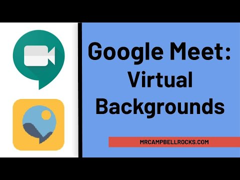 Google Meet Virtual Background Extension Without A Green Screen Youtube Digital Learning Classroom Online Teaching Teaching Technology