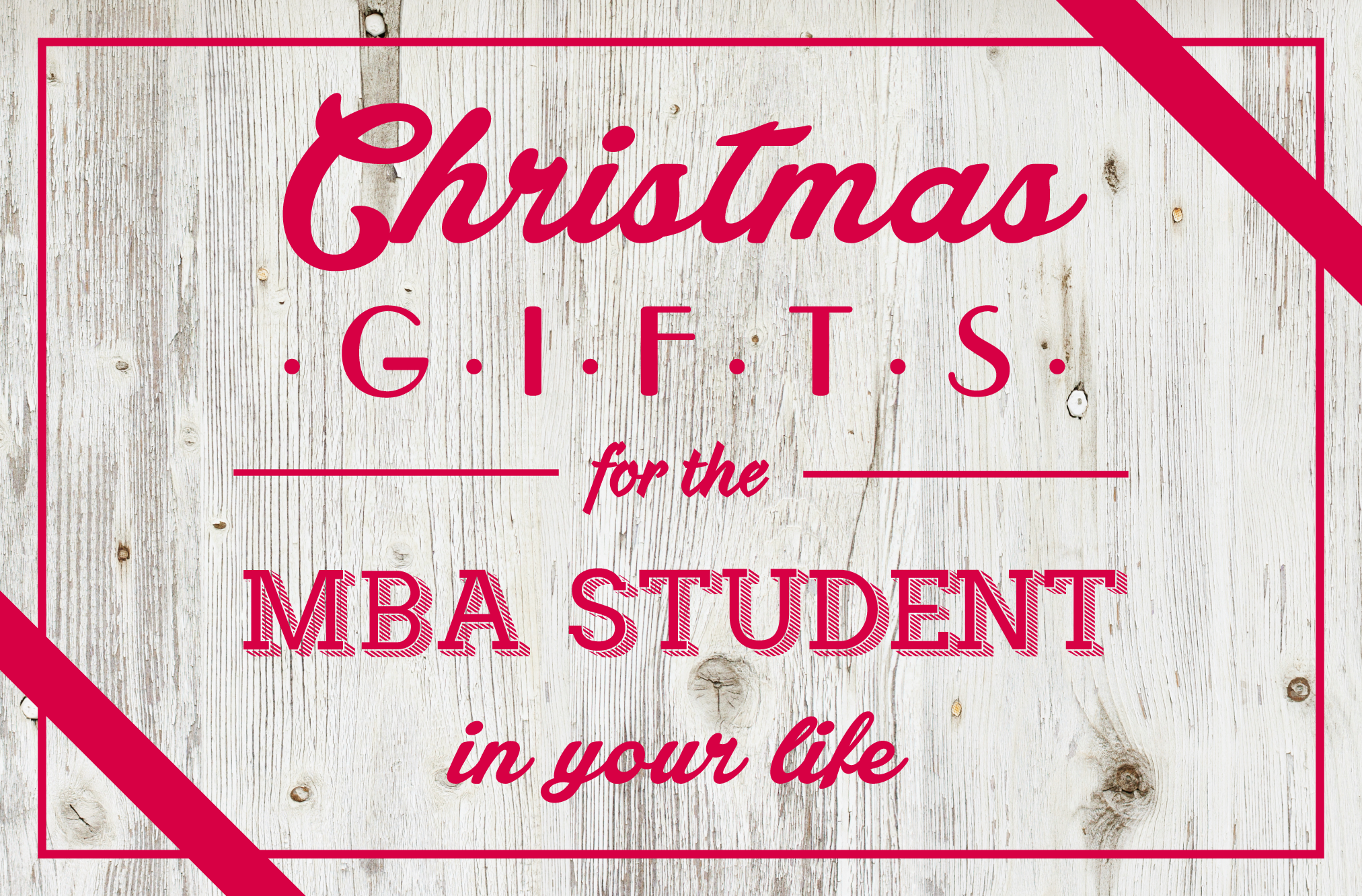 Here are 15 contemporary and hip gift ideas for the MBA student. Have cool items you want to add? Share your pins! #MBA #Christmas #Gifts