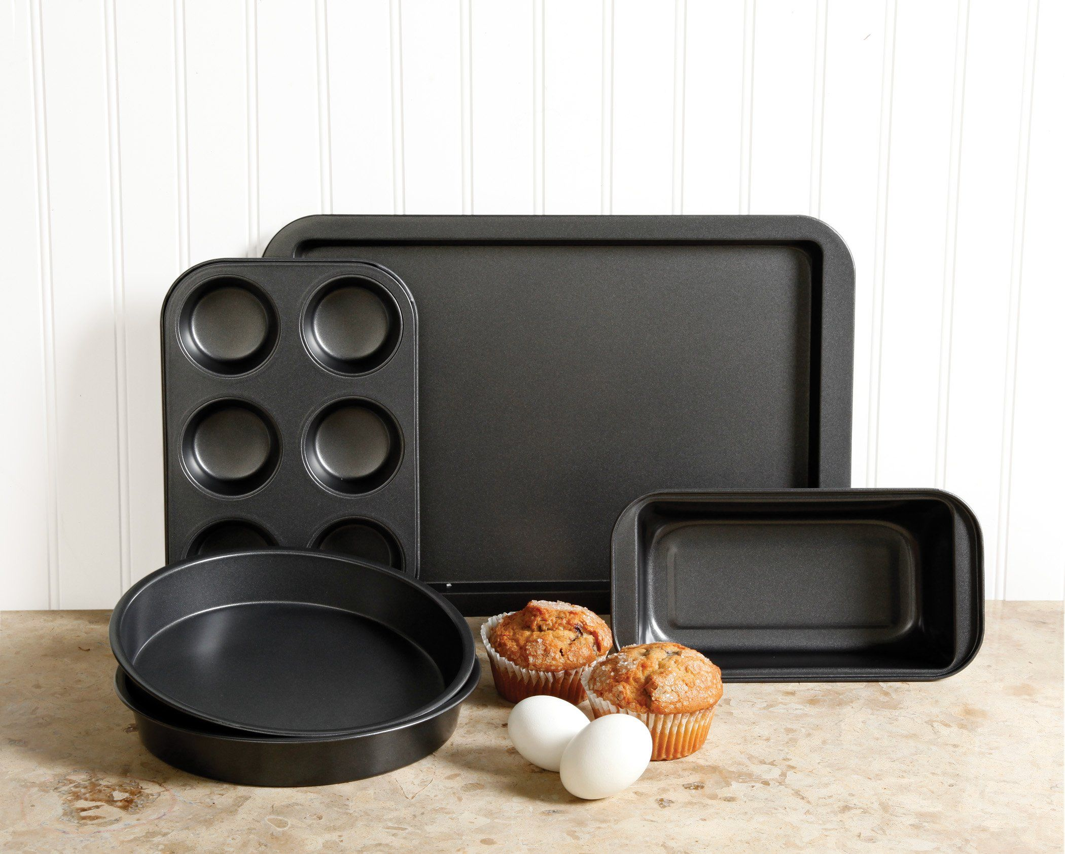 Sunbeam 76893 05 Kitchen Bake 5piece Bakeware Set Carbon Steel Click Image To Review More Details This Is An Affiliate Lin Bakeware Set Bakeware 10 Things