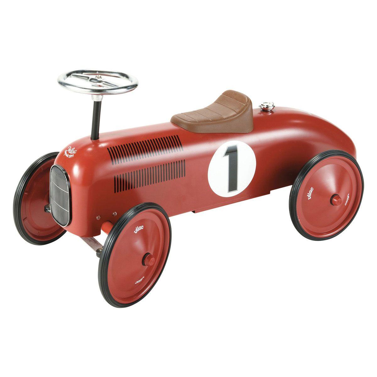 voiture porteur m tal rouge vilac maisons du monde kids room pinterest kids rooms toy and. Black Bedroom Furniture Sets. Home Design Ideas